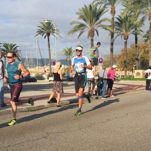 Tim Vanderpump running