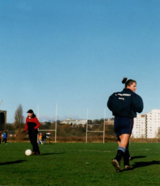 Fiona Breeden sport