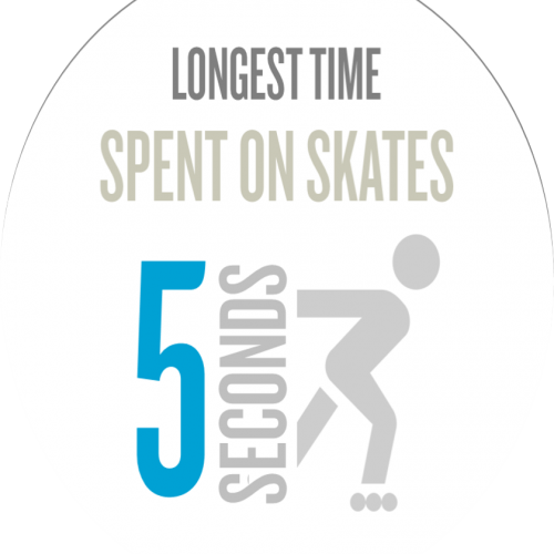 James Dolman skating